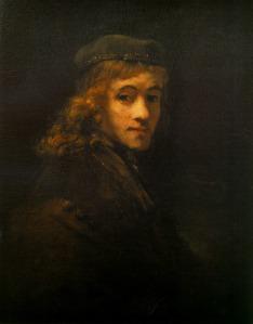 Rembrandt, portrait de Titus, Musée du Louvres (Paris)