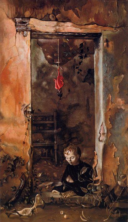 Leonor Fini «Petit sphinx ermite» (1948)
